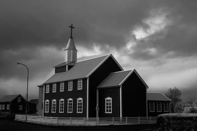 """Icelandic Infrared Church"", Iceland 2015"