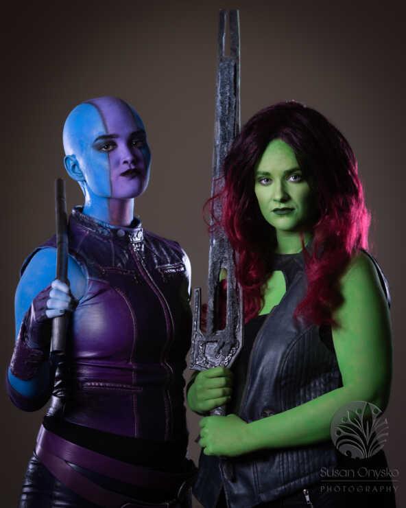 Nebula Gamora Cosplay
