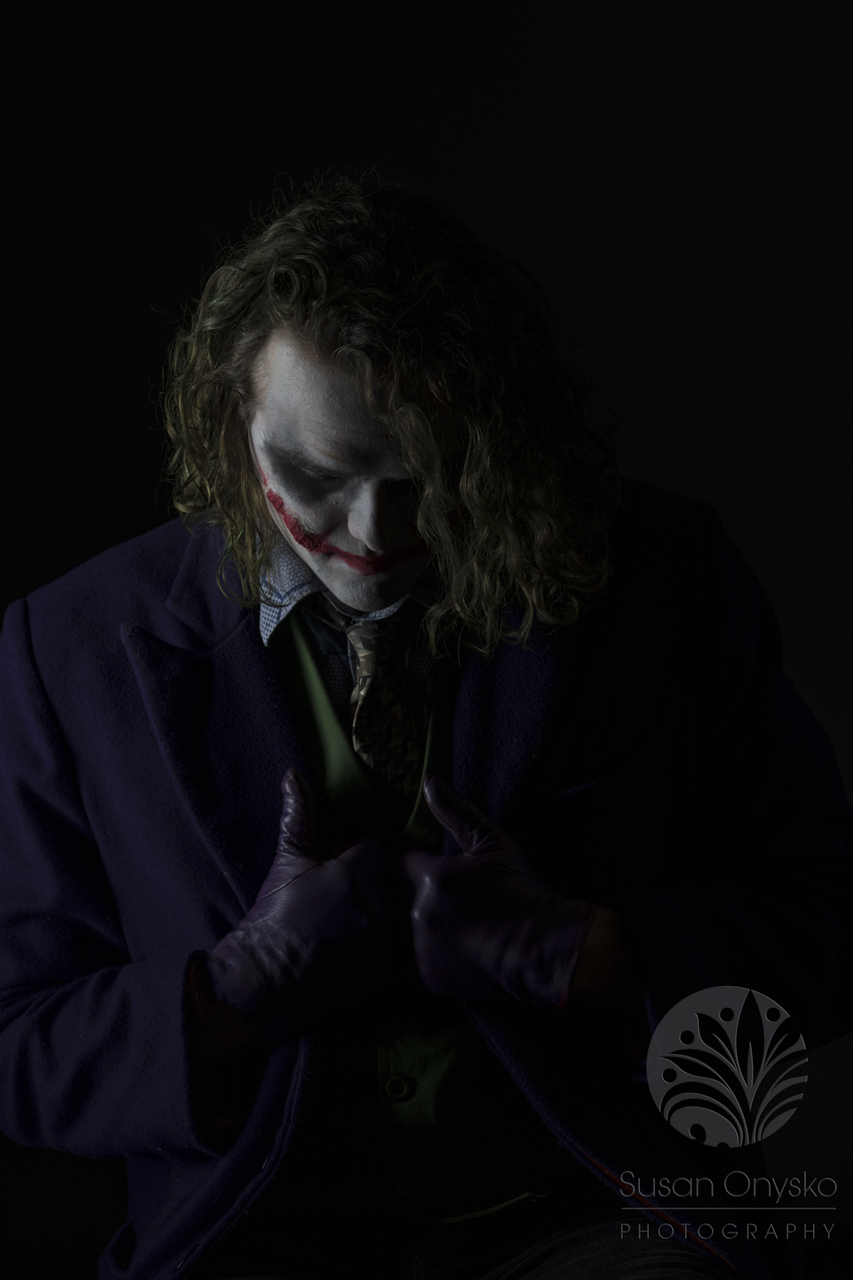Dark knight joker cosplay susan onysko photography